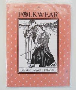 folkwear #151 Japanese Hakama
