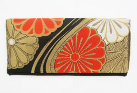 Bright Daisy Obi Clutch