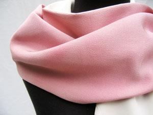 Pink Chirimen Wrap
