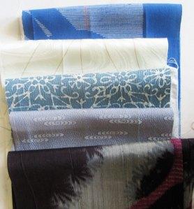 kimono silk assortment #3