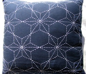 sashiko pillow