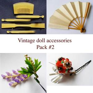 Vintage doll accessories #2