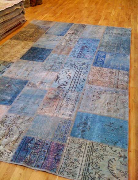 Overdyed patchwork Oriental rugs - The Ardent Thread