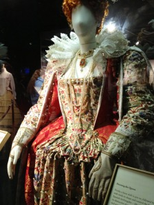 Reproduction gown based on original designs for Queen Elizabeth I