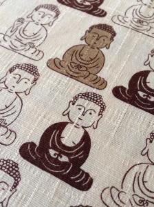 Buddhas in beige